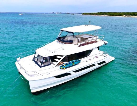 Aquila 48 Catamaran Yacht Rental Puerto Rico