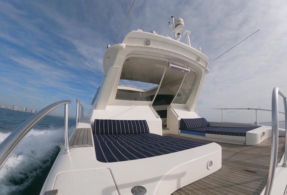 Leopard 75 Deck Yacht Charter Rental Ica