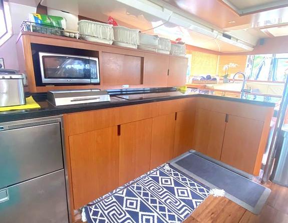 Interior Catamaran Yacht Rental