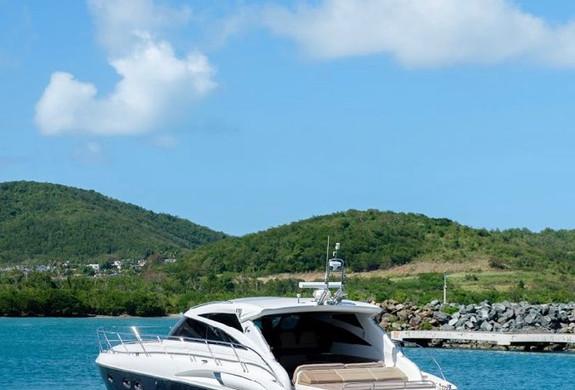 Yacht Charter Princess 58 Puerto Rico.