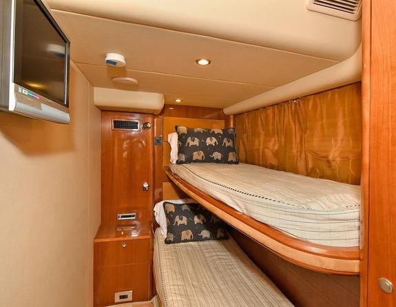 Bedroom 2 Princes V58 Yacht Charter