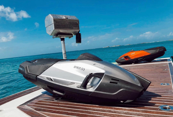 Snorkeling Electric Scooter Yacht Rental