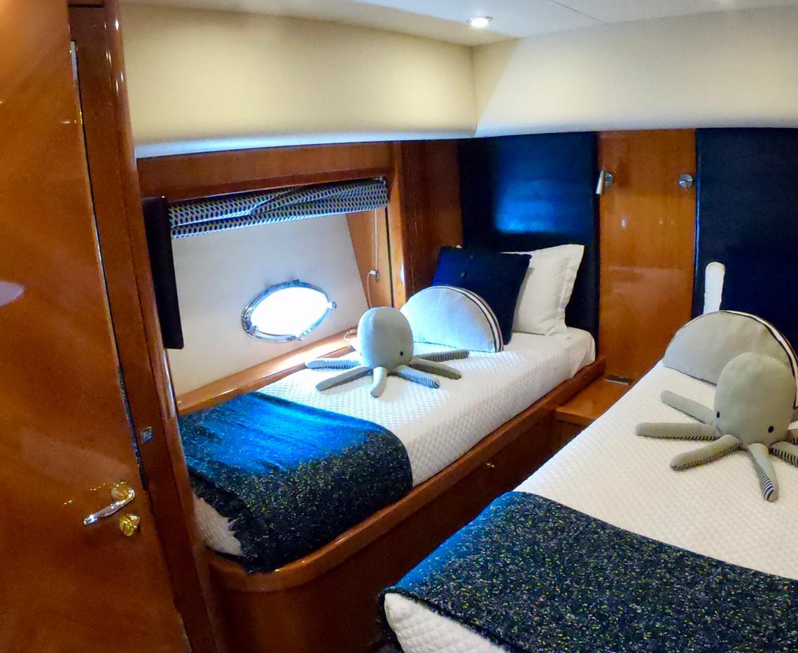 Bedroom 2 Predator Yacht