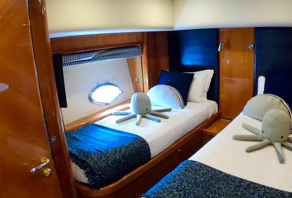 Bedroom 2 Predator Yacht