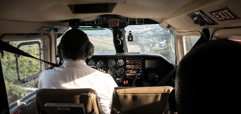 Landing at Culebra Island