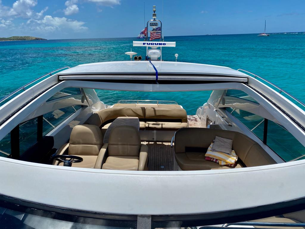 Luxury Yacht Charter Princess 58 Icacos