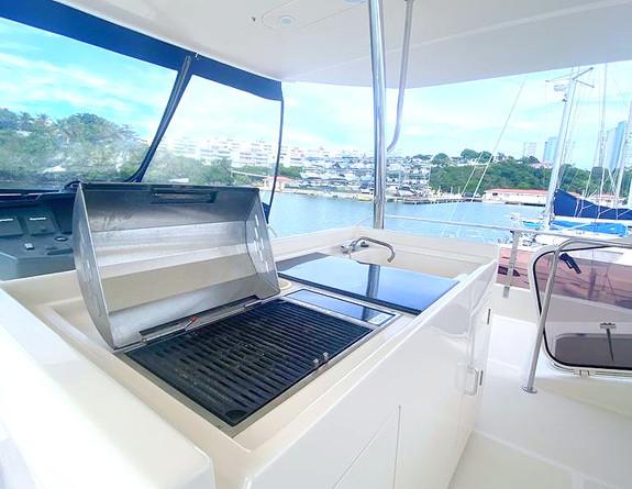 Grill Catamaran Yact Rental Puerto Rico