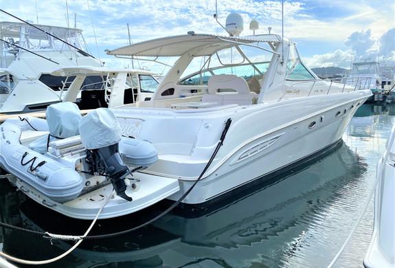 Sea Ray 53 Yacht Icacos, Palomino and Cu