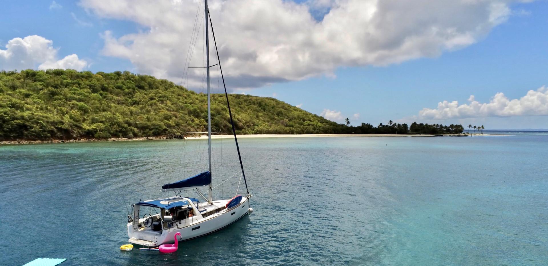 Culebra, Vieques, Icacos, BVI Sailing Ch