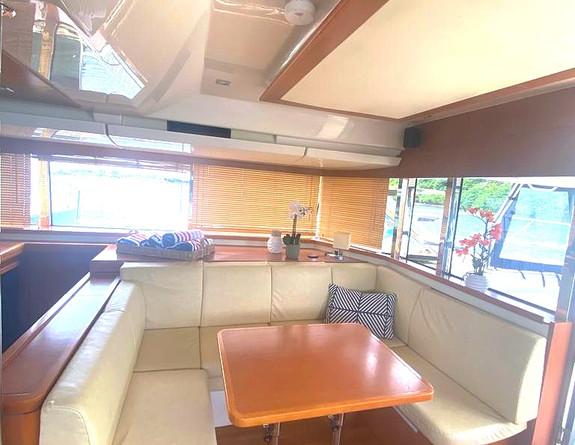 Catamaran Rental Interior Puerto Rico