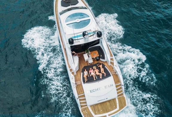 Luxury Yacht Charter Puerto Rico I VENTU