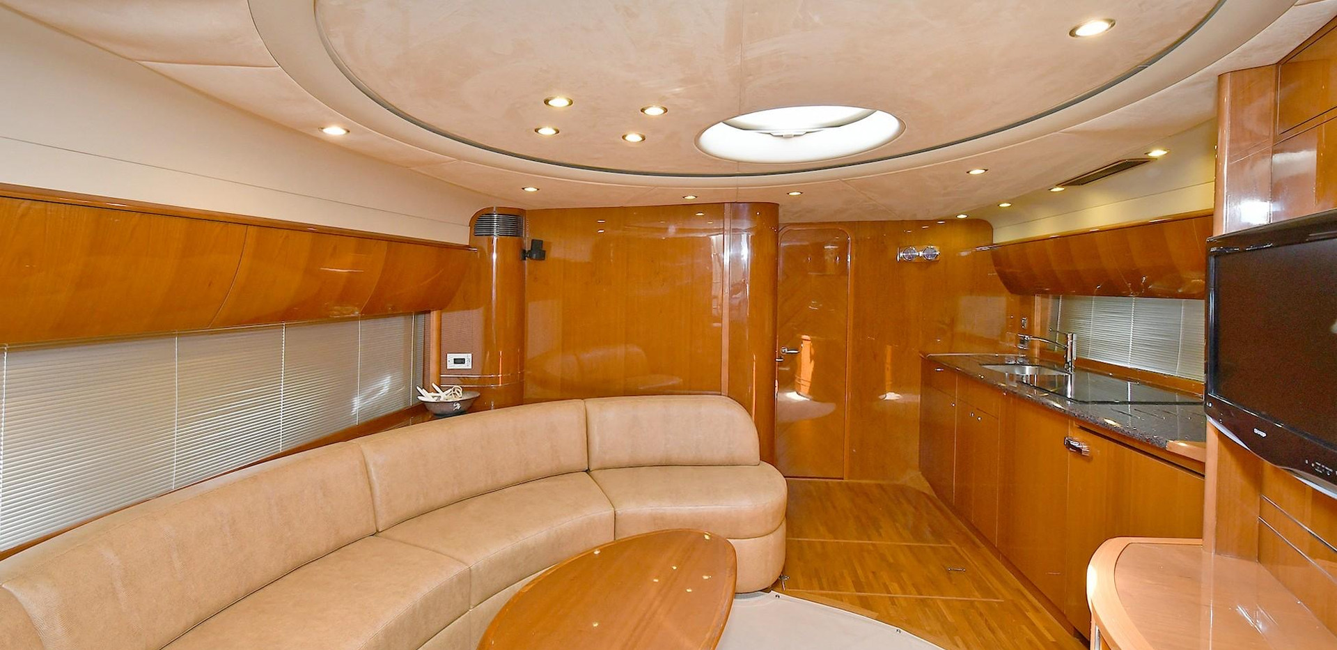 Princess 58 Yacht interior