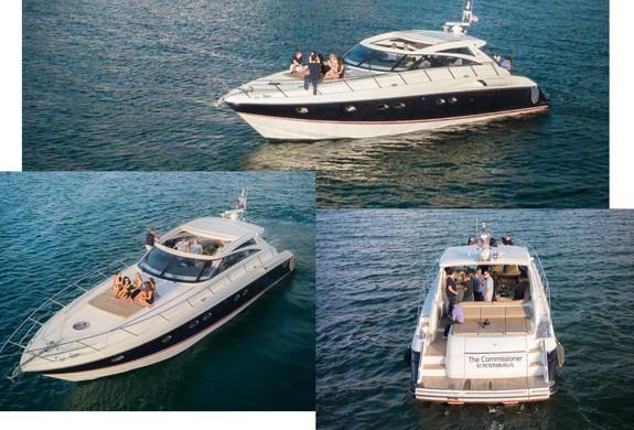 Princess v58 Yacht Charter Palomino Icac
