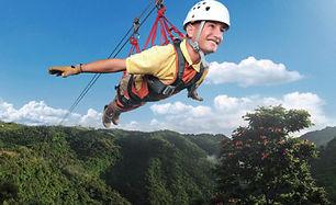 Zip lining I VENTURES www.iventurescarib