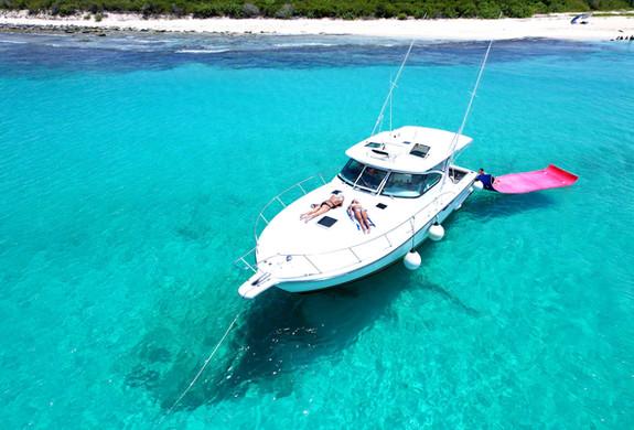 Yacht Charter Puerto Rico Tiara 40