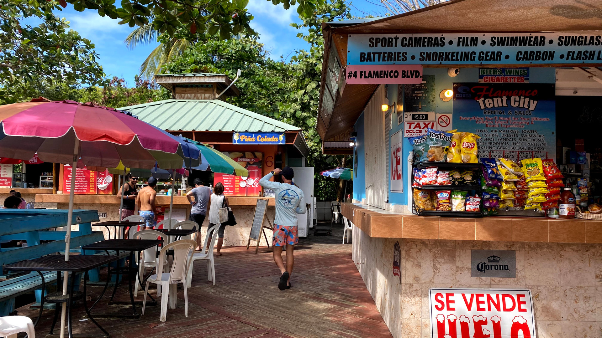 Food Kiosk Flamenco Beach
