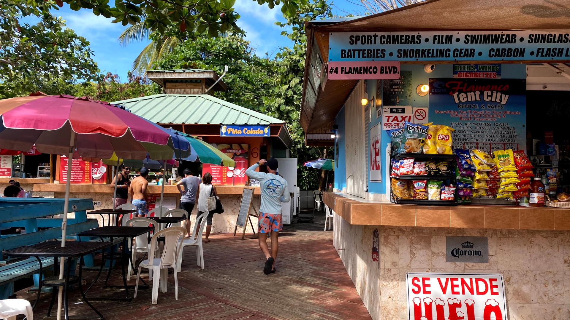 Food Kiosk Flamenco Beach