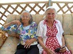 Doreen & Gladys Miller