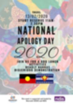 National Apology Day 2020 Moorundi Flyer