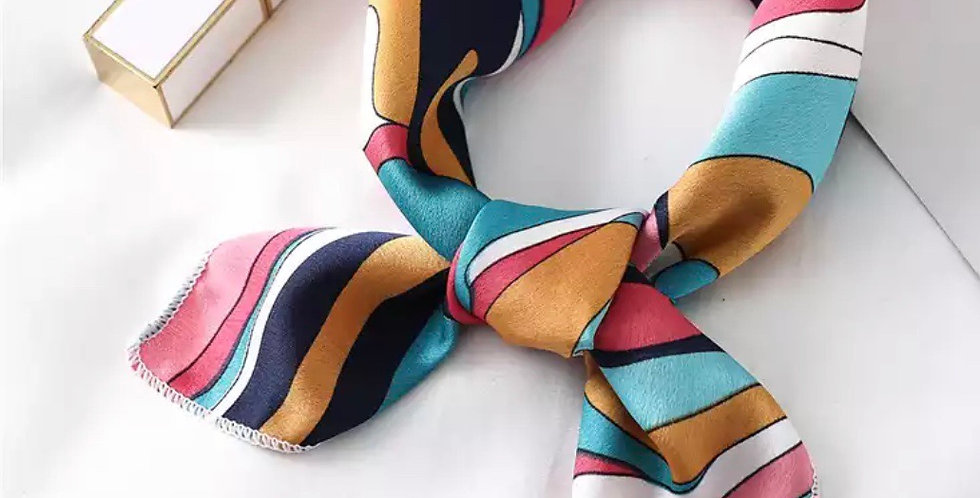 Erins Pucci Swirl Inspired Head Scarf