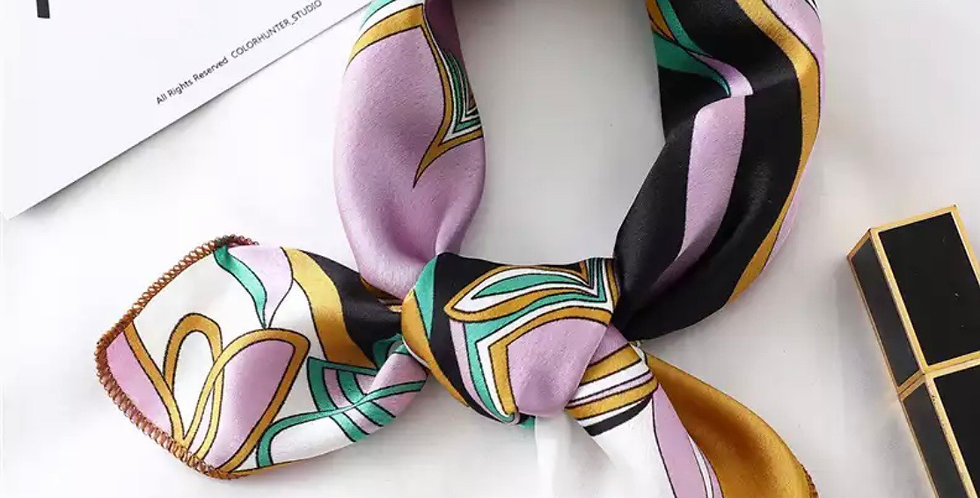 Erins Flower Pucci Inspired Head Scarf