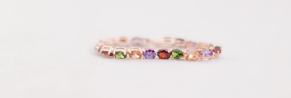Rainbow Bright Tennis Bracelet