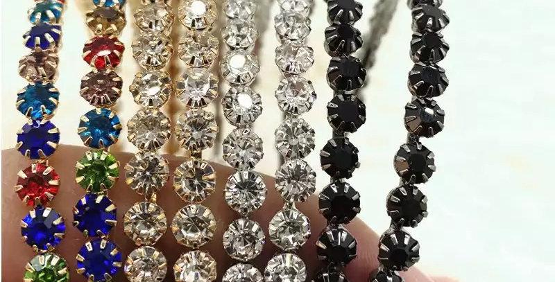 Oversized Crystal Hoop Earrings