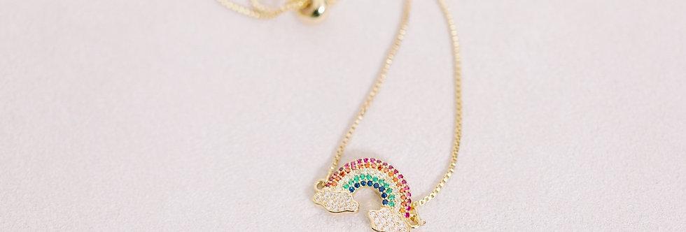 Rainbow Bright Chain Bracelet