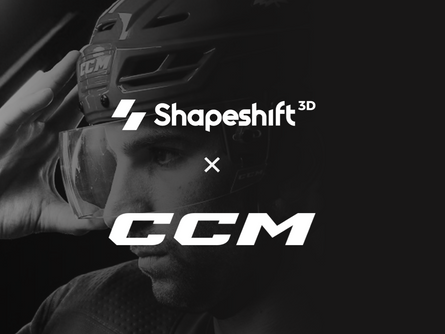 Shapeshift 3D to automate the custom-fit of 3D printed CCM hockey helmet liner.