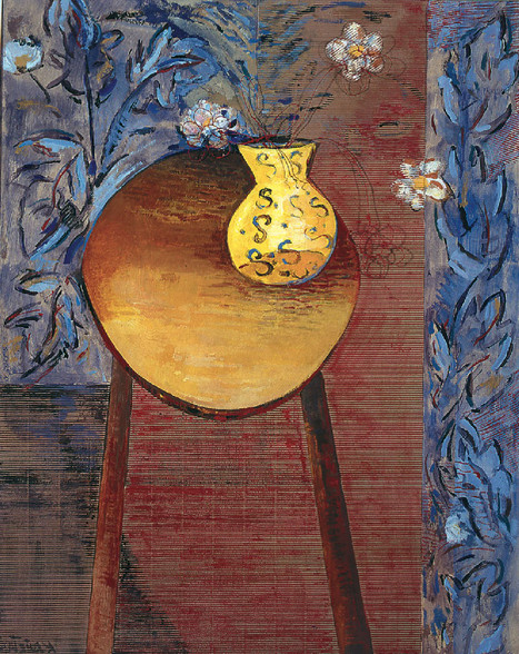 Mesa y florero