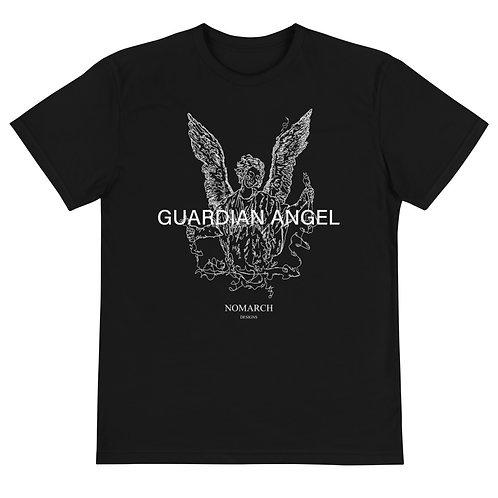 SUSTAINABLE UNISEX GUARDIAN ANGEL ECO T-SHIRT (BLACK)