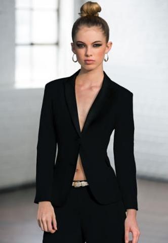 Black Peak Tuxedo Jacket