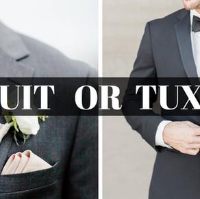 A Menswear Education Part 1: Tux or Suit?