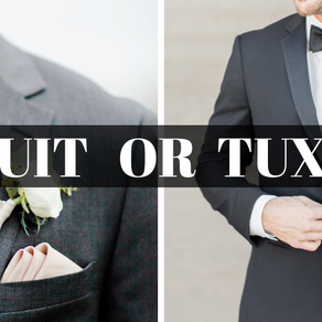 A Menswear Education Part 1: Tux or Suit?