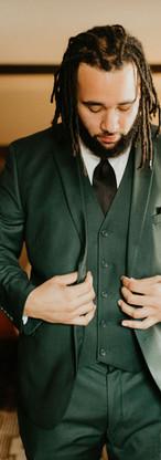 Hunter Green Suit