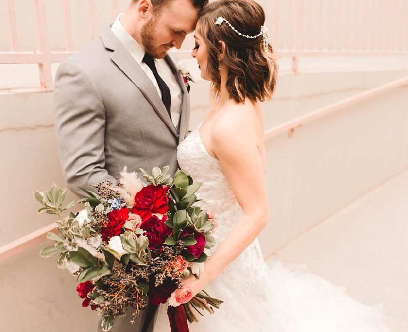 heather grey tuxedo rental downtown phoenix wedding groom tux