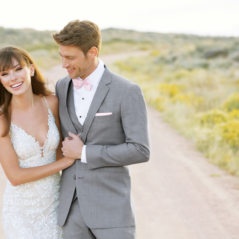 Ultra Slim Fit Suit | Grey Suit | Celebrity Tux and Tails