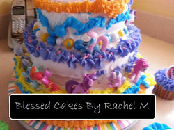 Blessed Cakes by Rachel M