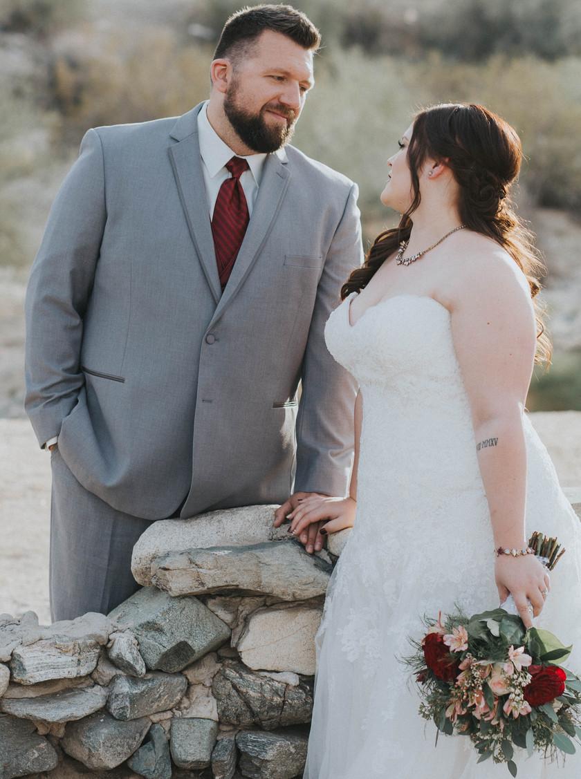 heather grey tuxedo groom tux rental phoenix arizona south mountain desert wedding suit