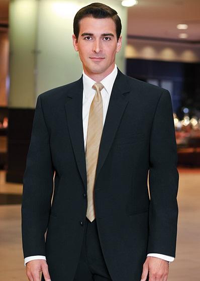 Black Business Suit