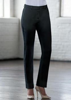 Black Slim Tuxedo Pants