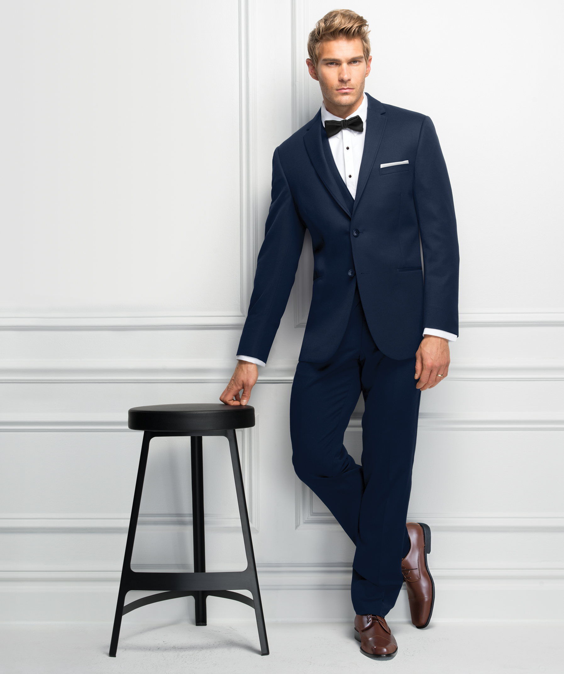 Michael Kors Blue Wedding Suit