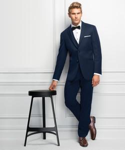 Michael Kors Blue Wedding Suit