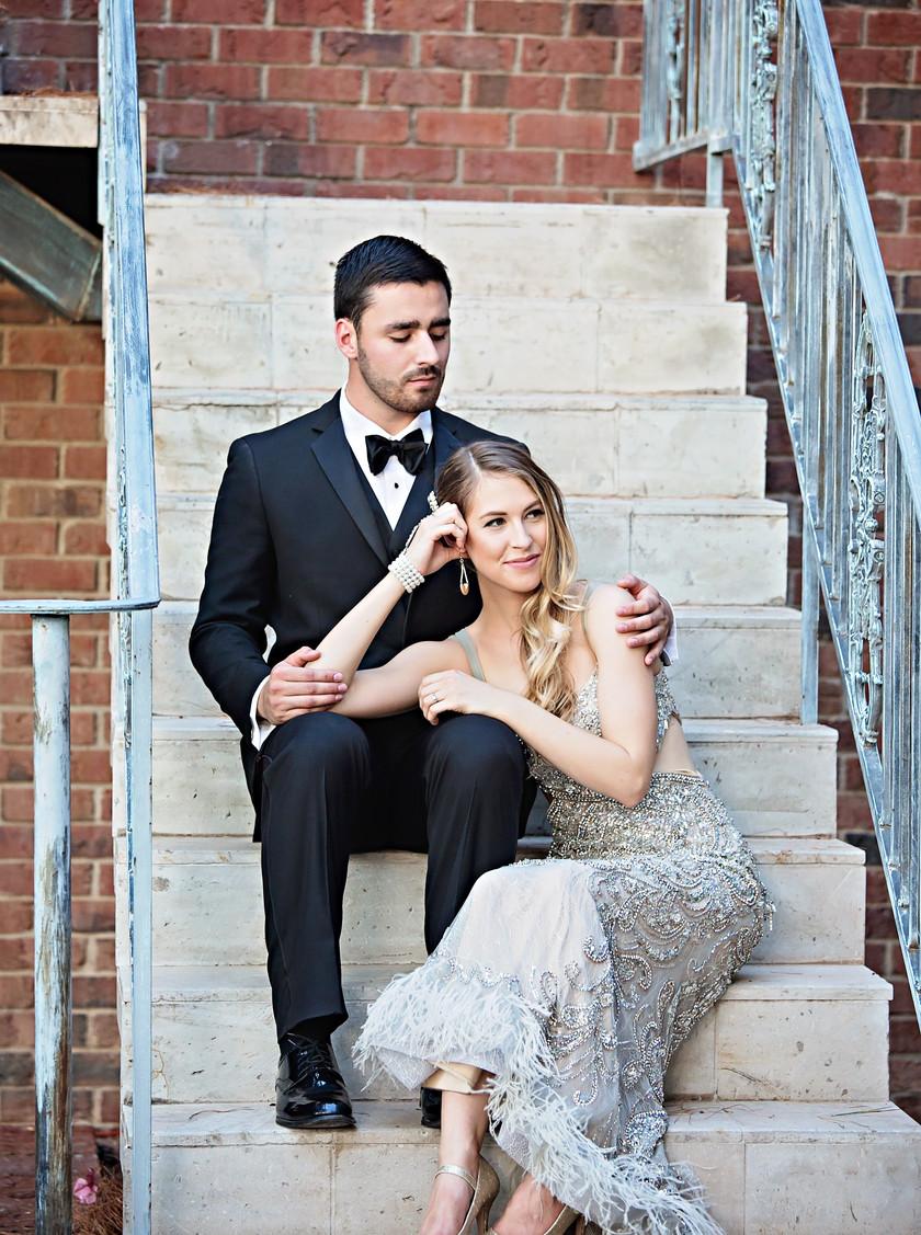 Classic black tux style wedding suit rental and sales groom and groomsmen phoenix