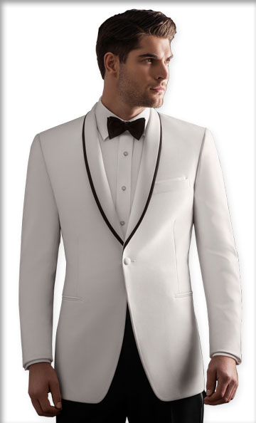 White Waverly Tuxedo by Ike Behar
