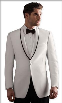 White Waverly Tuxedo by Ike Behar