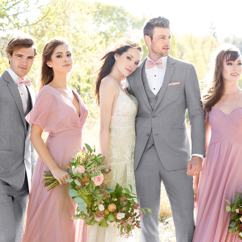 Heather Grey Clayton Suit | Celebrity Tux and Tails