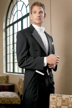 Classic Black Tails Tuxedo
