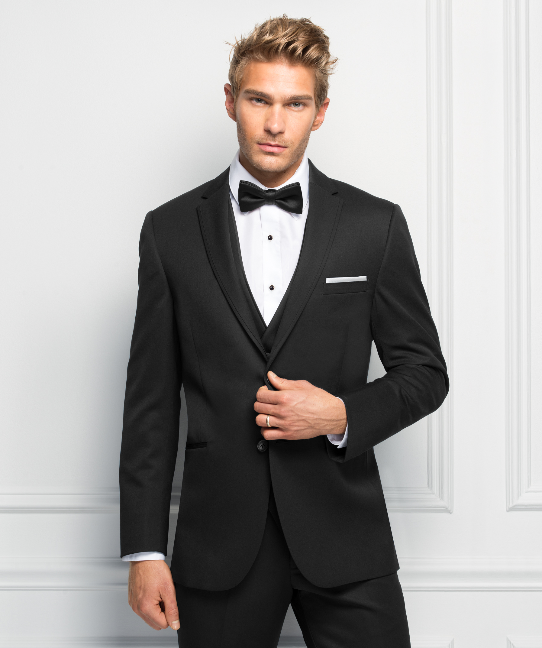 Michael Kors Black Wedding Suit