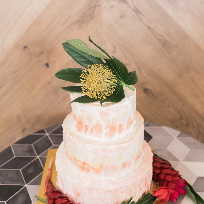 Wedding Cake   Tiered   Geometric Patterns